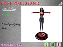 DANIMATIONS: Free Pose Stand