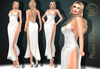 Market sec 1***arisarisb w alus81 riven gown dress