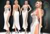 Market sec 3***arisarisb w alus81 riven gown dress
