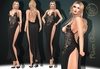 Market sec 4***arisarisb w alus81 riven gown dress