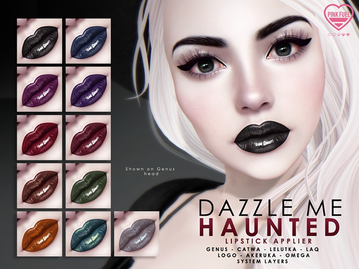 [PF] Dazzle Me Lipsticks  - Haunted