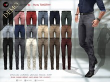 A&D Clothing - Pants -Timothy-  DEMOs