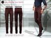 ! a d clothing   pants  timothy  mahogany