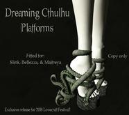Dreaming Cthulu Platforms/ By: Infernal Alchemy