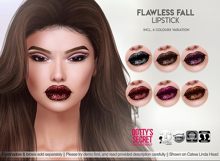 Dotty's Secret - Flawless Fall - Lipstick