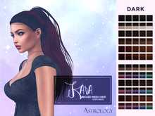 Hair by Astrology: Kara ~ Dark