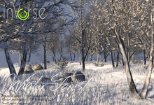 inVerse® MESH - Winter Forest  patch