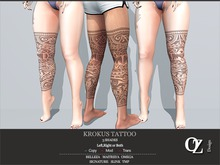 Oz Design : Krokus Tattoo