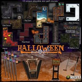 MadPea Halloween Mini Golf - Hole - Beach RARE