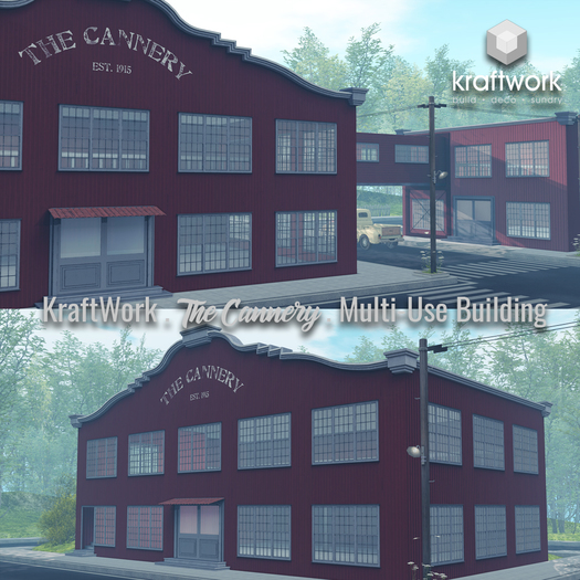 KraftWork The Cannery Multi-Use Building