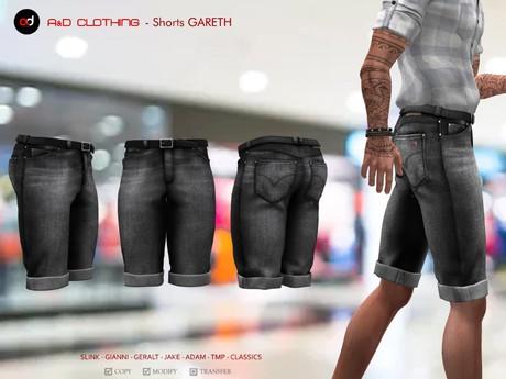 A&D Clothing - Pants -Gareth- Charcoal