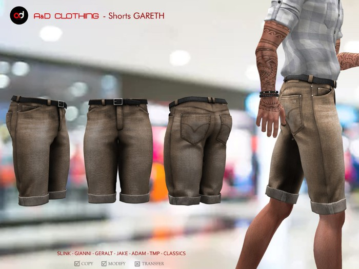 A&D Clothing - Pants -Gareth- Brown