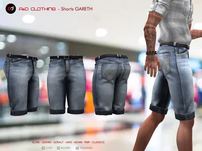 A&D Clothing - Pants -Gareth- Stonewashed
