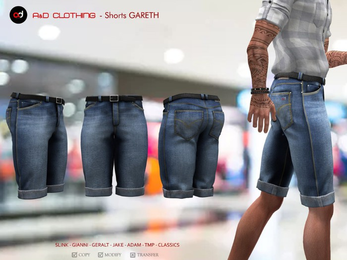 A&D Clothing - Pants -Gareth- Blue
