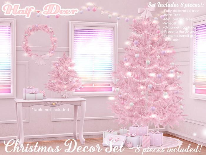 +Half-Deer+ Christmas Tree + Decor Set [Princess]
