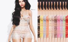 TEXTURE -Full perm For byCrash -Tight micro mini dress