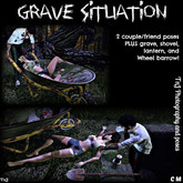 Grave situation props and Poses-Unpack