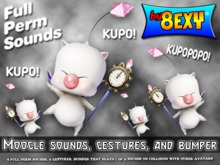 Moogle Sounds, Gestures, And Bumper KUPO! - by 8exy