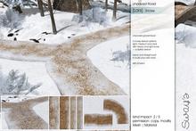 Sway's [Lars] Unpaved Road . Snowy