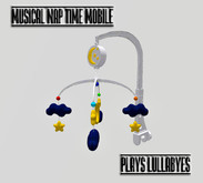 NAP TIME MUSICAL CRIB MOBILE ALL BABIES