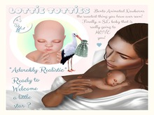 Lottie Totties {Bento Animated Newborns} ✫ Mommy Version - Vanilla ✫