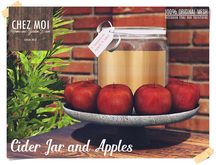 Cider Jar and Apples ♥ CHEZ MOI