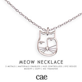 Cae :: Meow :: Necklace [bagged]