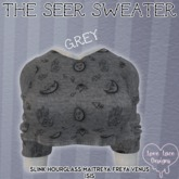::LL:: The Seer Sweater // Grey