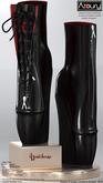 AZOURY - Aguicheuse Ballet Shoe {Onyx}