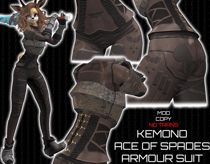 [inZoxi] - Box - Kemono Ace Of Hearts Armour