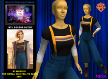 WW 13th Doctor Outfit