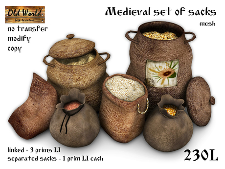 medieval market decoration