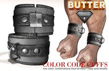 {BUTTER}color code cuffs GREY