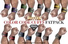 {BUTTER}color code cuffs FATPACK