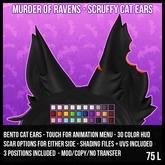 [M.O.R] scruffy cat ears