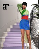 XK Maitreya Modern Fairytale Gown Reflection