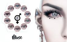 Go&See * Muse * Eyes ~ Genus / Catwa / Mesh Eyes - Fatpack