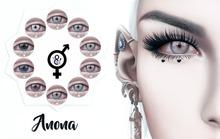 Go&See * Anona * Eyes ~ Genus / Catwa / Mesh Eyes - Fatpack