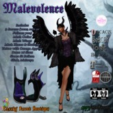 Malevolence (Maleficent Dress Outfit)