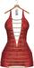 "Elia""Carolinna""[Maitreya/Belleza]Mini Dress/Panties-Leather Red"