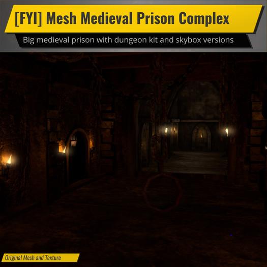 [FYI] Mesh Medieval Prison Complex