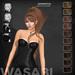 Wasabi // Samantha Mesh Hair - Browns