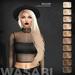Wasabi // Willow Mesh Hair - Blonds - HALLOWEEN SPECIAL