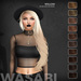 Wasabi // Willow Mesh Hair - Browns - HALLOWEEN SPECIAL