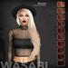 Wasabi // Willow Mesh Hair - Reds - HALLOWEEN SPECIAL