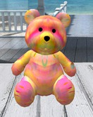 BIG RAINBOW TEDDY BEAR (Only 2 Land Impact)