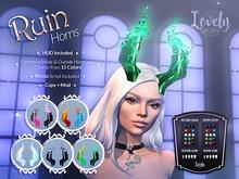 ((LovelyAlien)) Ruin Horns - FATPACK