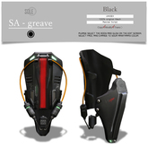 :::SOLE::: SA - greave (Sunny Black)