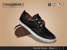 Deck Shoes - Norfolk - Black - Signature  l  Belleza  l  SLink  l  CA