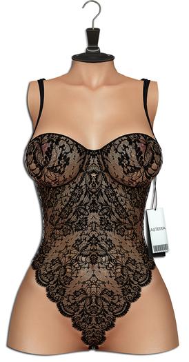 "Asteria ""Bobbi"" [LEGACY/Maitreya/Belleza] Bodysuit - Black"